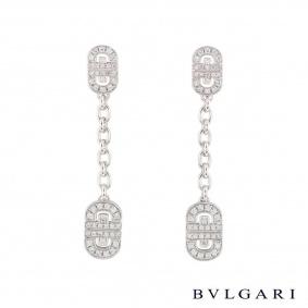Bvlgari Diamond Parentesi Earrings